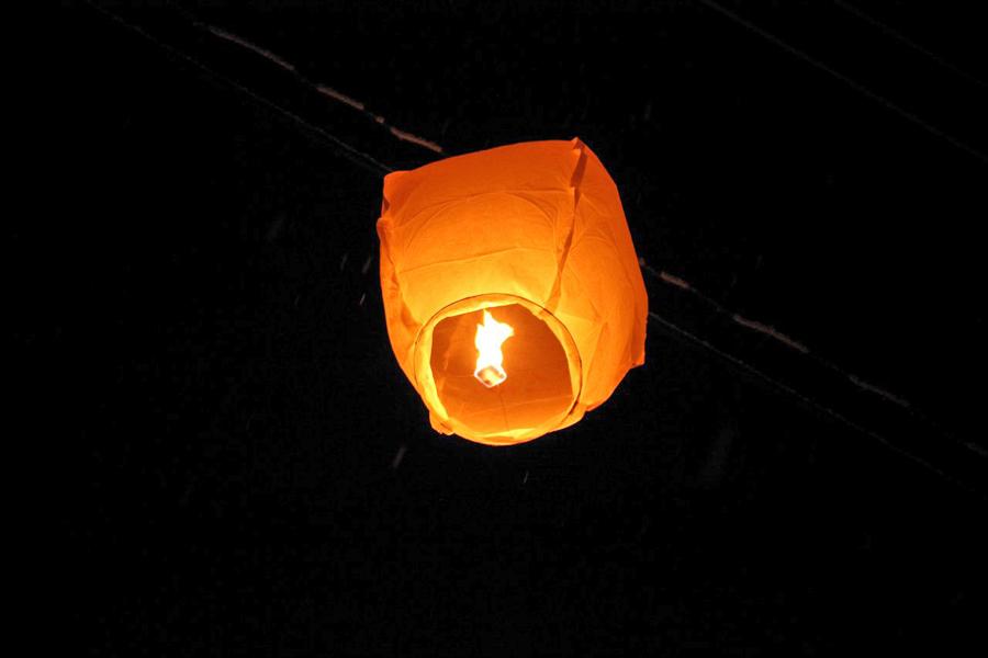 Китайские фонарики: делаем своими руками. Видео мастер 13