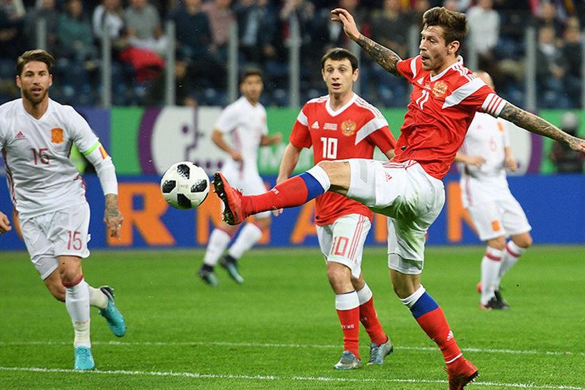 россия футбол чемпионат мира какой счет