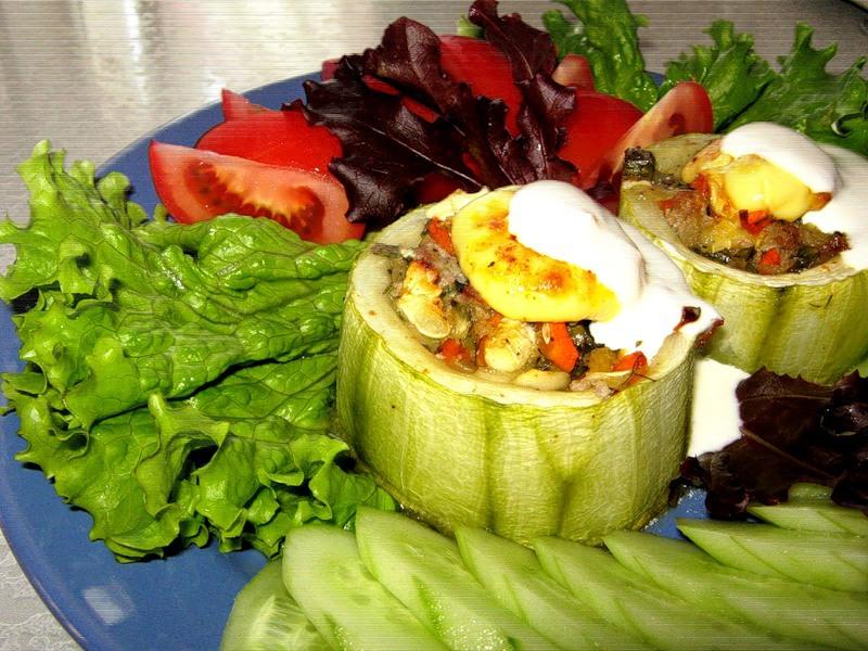 Рецепты детских блюд из кабачка