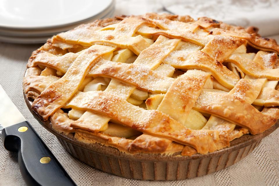 Яблочный пирог с рецепты